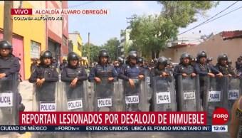 CDMX investigará protocolo de actuación en desalojo de Alfonso XIII
