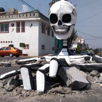 Megacalaveras en Tláhuac, para incentivar tradiciones de Día de Muertos: Raymundo Medina