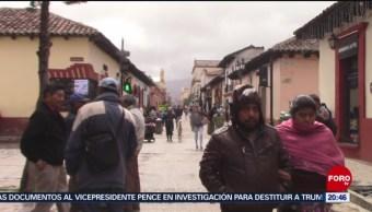 FOTO: Chiapas ya se prepara para la entrada del frente frío tres, 5 octubre 2019
