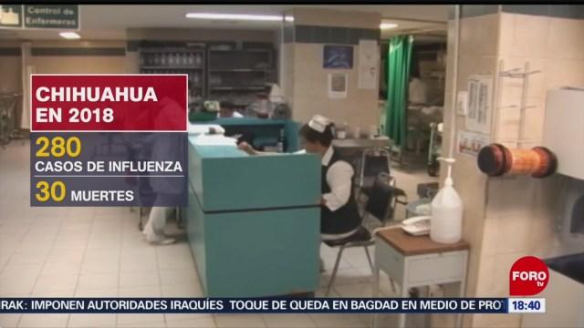 FOTO: Chihuahua realiza campaña de vacunación contra la influenza28 octubre 2019