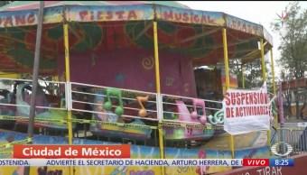 Clausuran Feria de Tacubaya, en CDMX, por incumplir regulaciones