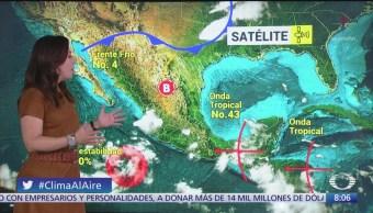 Clima Al Aire: Lluvias intensas en Tamaulipas, Puebla y Veracruz