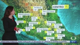 Clima Al Aire: Lluvias por el frente frío 6