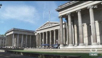 FOTO: Colección Palenque Chiapas llega Museo Británico Londres