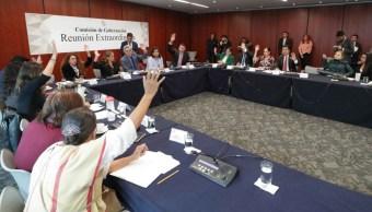 Reunión de la Comisión de Gobernación