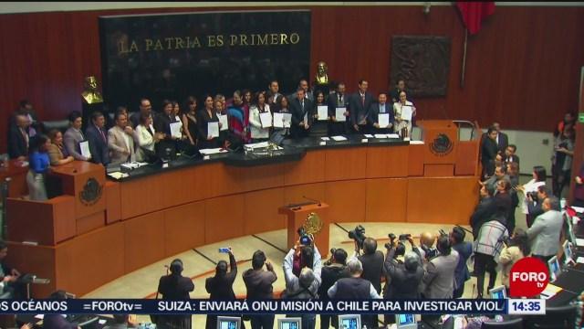 FOTO: Comisiones Senado aprueban Paquete Económico 2020