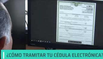 Foto Cédula Profesional Electrónica 26 Octubre 2019