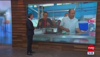 #CotorreandoconlaBanda: 'El Repor' suelto en el Mercado Mixcoac