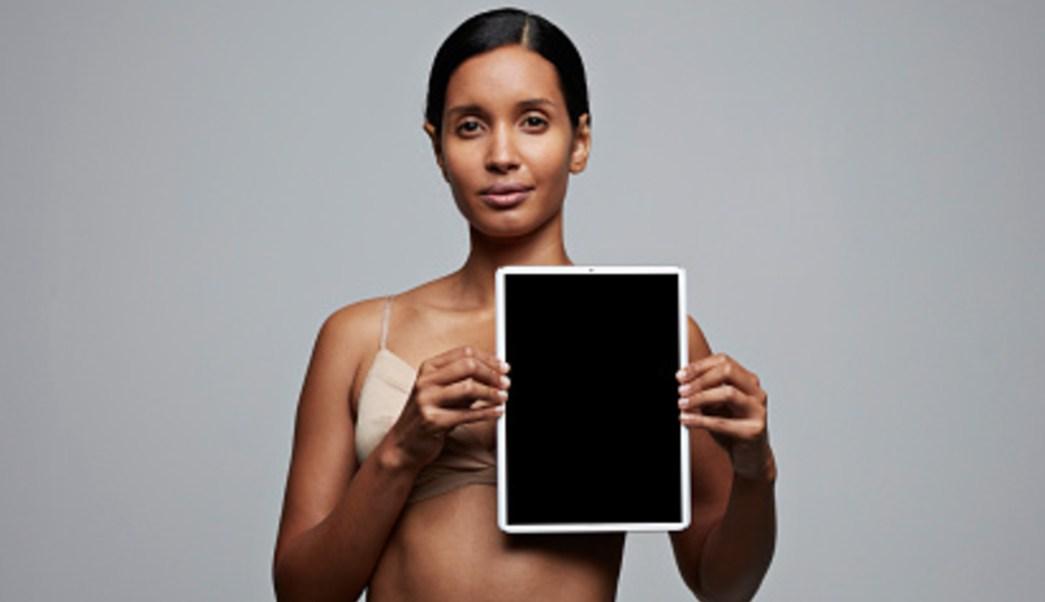 Foto: La aplicación cuenta con dos apartados en los que se muestran estadísticas sobre el cáncer de mama, 22 de octubre de 2019 (Noticieros Televisa)