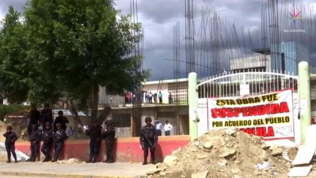 IMAGEN Crece conflicto por escuela en Tlacolula de Matamoros