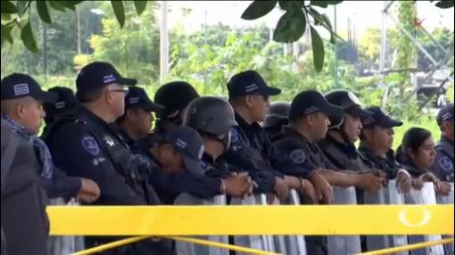 Foto: Custodios Penal Atlacholoaya Exigen Seguridad Remoción Directivos 31 Octubre 2019