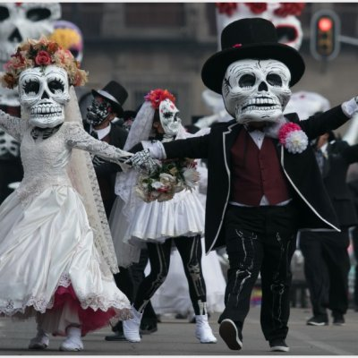 FOTOS Y VIDEOS: Así se vivió el Desfile Internacional del Día de Muertos en CDMX