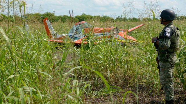 desplome avioneta