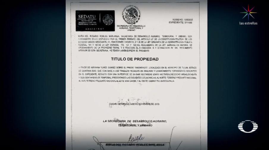 Foto Detectan nuevos títulos de propiedad falsos en Riviera Maya