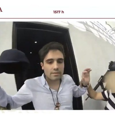 Video: Difunden momento de la detención de Ovidio Guzmán, hijo de