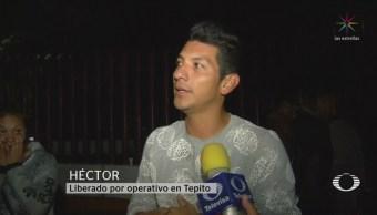 Foto: Detenidos Tepito Narran Operativo Hoy 24 Octubre 2019
