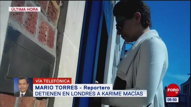 Detienen a Karime Macías, esposa del exgobernador Javier Duarte
