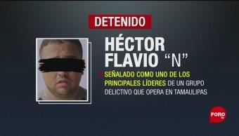 FOTO: Detienen Líder Delictivo Tamaulipas