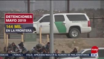 Foto: Disminuye Número Detenidos Frontera Estados Unidos 8 Octubre 2019