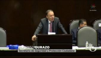 Foto: Durazo Comparece San Lázaro Operativo Fallido Culiacán 31 Octubre 2019