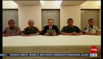 Foto: Durazo Confirma Detención Hijo Chapo Culiacán 17 Octubre 2019