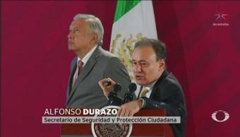 Foto: Alfonso Durazo Reconoce Situación Inseguridad México 14 Octubre 2019