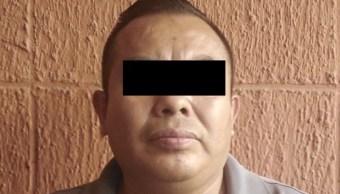 """Foto: El ex secretario de Seguridad Pública del municipio Dr. González, Nuevo León, Lenin """"N"""", 27 de septiembre de 2019 (Twitter @uri86)"""