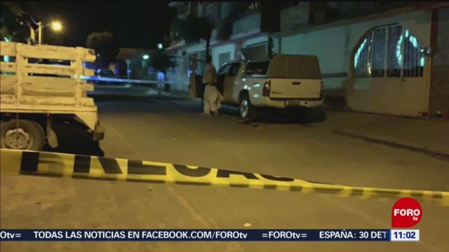 Ejecutan a tres hombres en Irapuato, Guanajuato