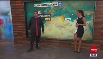 El #ClimaenExpreso internacional del 16 de octubre del 2019