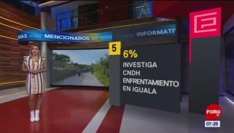 El impacto en las portadas de los principales diarios del 18 de octubre del 2019
