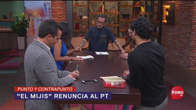 Foto: El Mijis Renuncia Denuncia Pt 15 Octubre 2019
