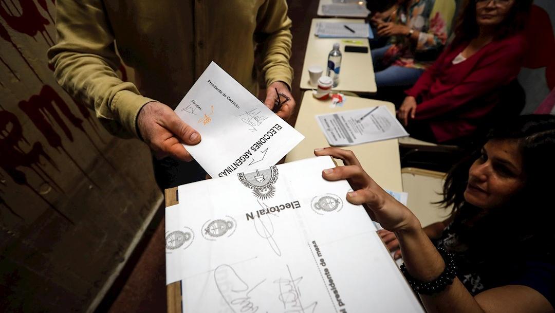 Foto: Se celebran elecciones presidenciales en argentina este domingo 27 octubre 2019