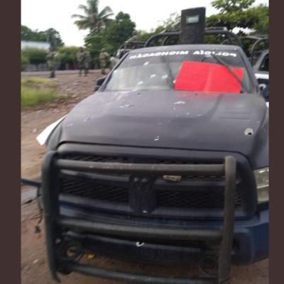 Emboscan a policías estatales en Aguililla, Michoacán; confirman 14 muertos