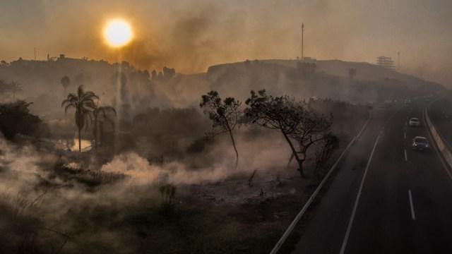 FOTO Declaratoria de emergencia para Ensenada y Tecate por incendios