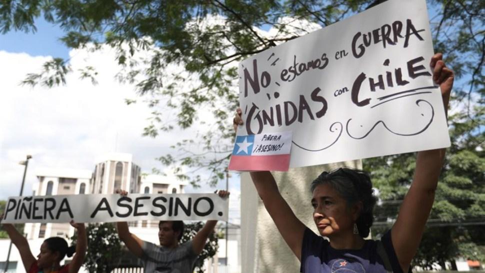 Foto: En el caso de México, se invita a marchar por Chile, del Hemiciclo a Juárez hacia el Zócalo capitalino. (EFE)