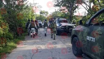 Enfrentamiento en Tepochica en Iguala, Guerrero