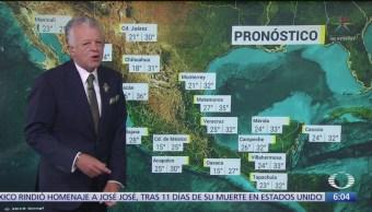 Entrada de frente frío 4 ocasionará bajas temperaturas en Sonora y BC