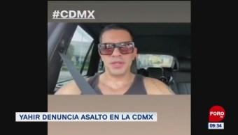 #EspectáculosenExpreso: Yahir denuncia asalto en la CDMX