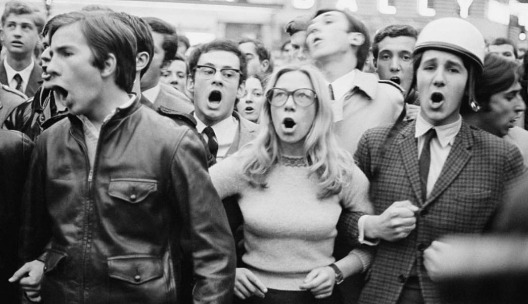 Foto: Mayo 68 personas izquierda mas inteligentes que personas de derecha. 22 Octubre 2019