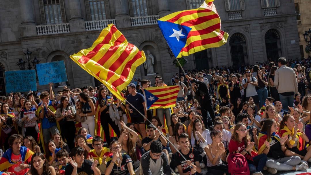 Foto: EU, Reino Unido, Francia y Portugal alertan sobre viajes a Cataluña, 17 de octubre de 2019, Barcelona