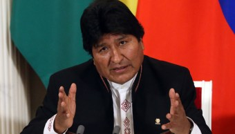 Imagen: Morales lamentó que la oposición emplee argumentos de tipo racista para cuestionar su victoria, 26 de octubre de 2019 (Getty Images, archivo)
