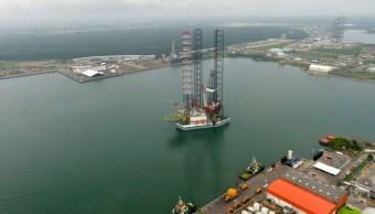 Foto: Plataforma petrolera, 19 de marzo de 2015 Tabasco,