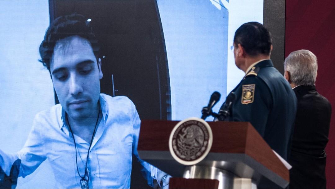 Foto: El general Luis Crescencio Sandoval dijo que el origen del operativo en Culiacán se dio luego de una solicitud de extradición por parte del gobierno de Estados Unidos, que data de abril de 2018
