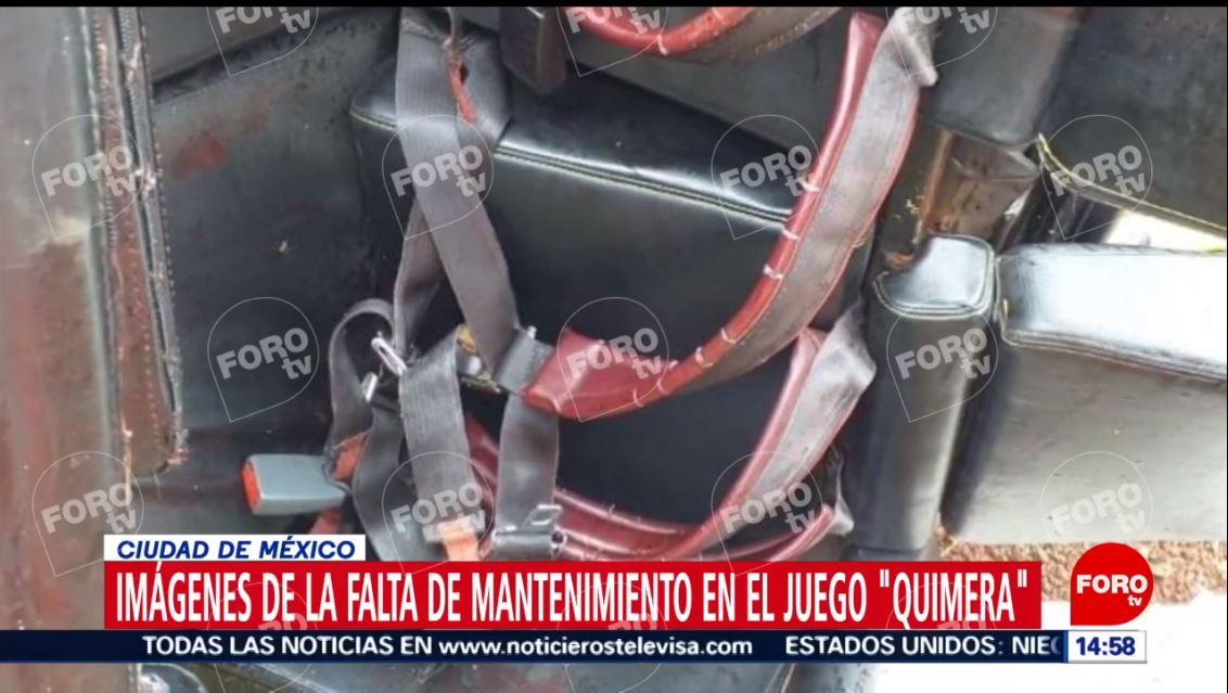feria chapultepec cinturoes seguridad