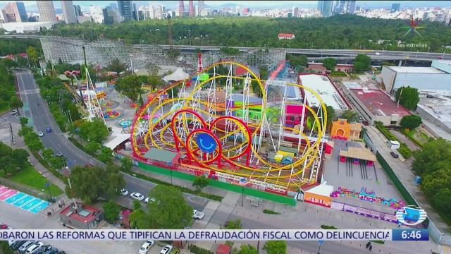 Feria de Chapultepec insiste en que juegos mecánicos recibieron mantenimiento adecuado