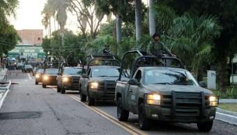 Foto: Militares patrullan las calles de Culiacán, Sinaloa. Reuters