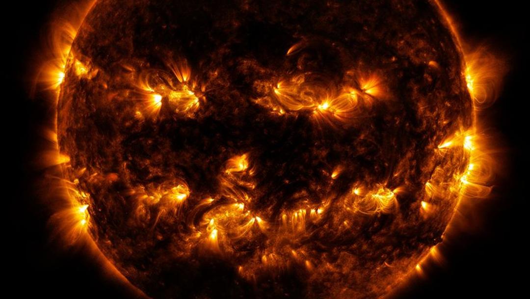Foto: Foto del Sol compartida por la NASA. 28 Octubre 2019