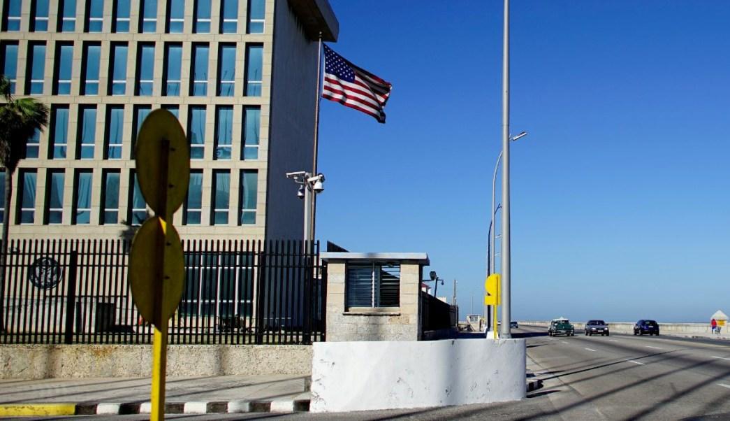 Photo: siège de l'ambassade des États-Unis à La Havane, Cuba. Reuters / Archive
