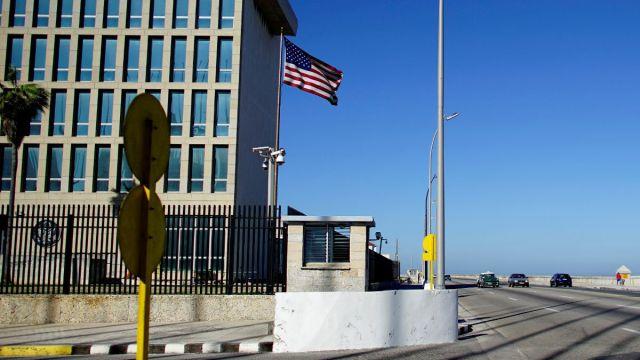 Foto: Sede de la embajada de Estados Unidos en la Habana, Cuba. Reuters/Archivo