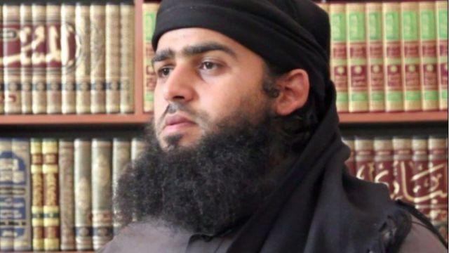 Foto: Abú al Hasán al Muhayir, portavoz del Estado Islámico.